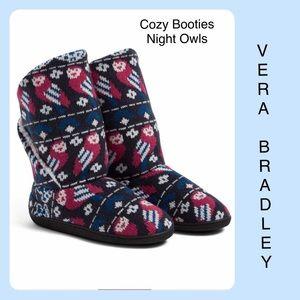 Vera Bradley Cozy Booties Owls NWT